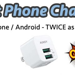Fast Phone Charger - iPhone/Android