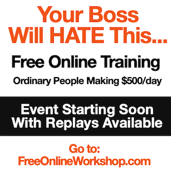 Free Online Workshop - CLICK