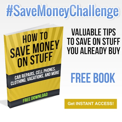 Ways to Save Money - #SaveMoneyChallenge